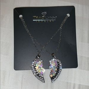 Traci Lynn Mother Daughter Necklace